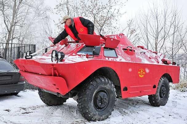 St. Petersburg Tank Taxi